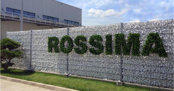 Габионна ограда - паркинг РОСИМА