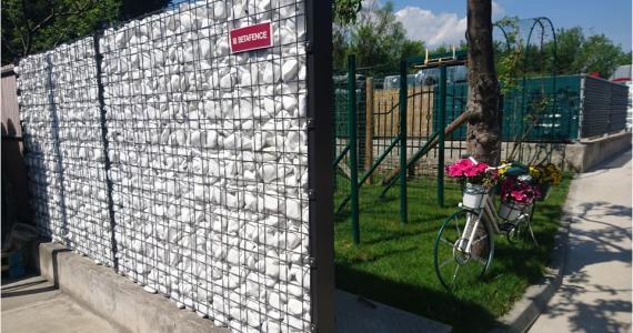 Габионна ограда