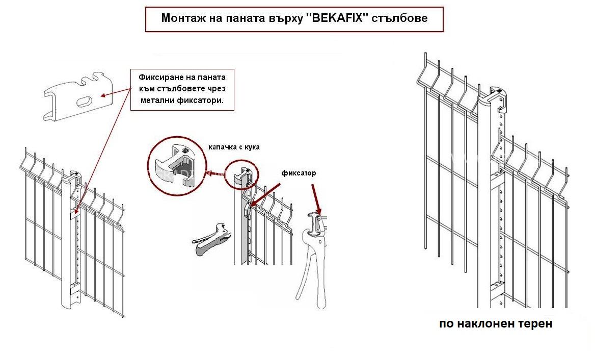 Оградни стълбове BEKAFIX
