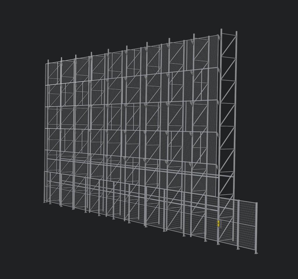 Обезопасяване на складове - защитни системи срещу падащи предмети