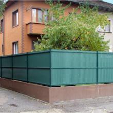 Оградна система Nylofor 3D + покривало Nylovor NEVADA - кв. Красна поляна