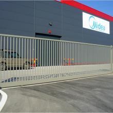 Оградна система Nylofor 3D - Складова база на фирма Бовал Сервиз