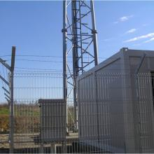 Nylofor 3D Hot Dip + Бодлива тел - GSM базови станции - VIP Operator, Македония