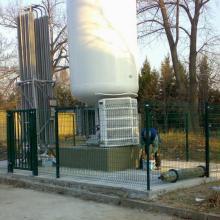 Система за складиране на кислород - Белодробна Болница, София