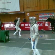 Мобилна ограда за спортни събития - Fencing cup 2010 Зала Универсиада, София