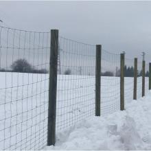 Оградна система URSUS с дървени стълбове - База Агротайм Исперих