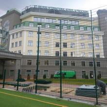 "Оградна система Nylofor 2D Super - Спортни площадки на Училище ""Св. Георги"""