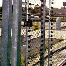 Високоволтова оградна система