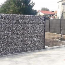 Габионна стена ZENTURO - частна вила с.Банево, обл.Бургас