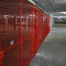 Вътрешно преграждане в подземен гараж