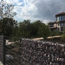 Оградна система + габионна стена ZENTURO - частна вила с.Банево, обл.Бургас
