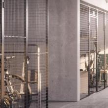 Вътрешни преграждения TROAX за сутерени - жилищна сграда, София