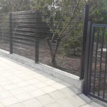 Оградна система ZENTURO + еднокрила врата ROBUSTA - частна вила с. Банево, обл.Бургас