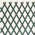Декоративна ограда ХАРМОНИКА PVC двулицев плет