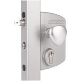 Електрически брави за радиално отваряеми врати