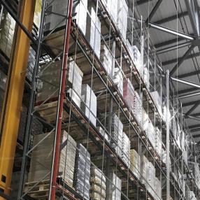 Преграждения за разделяне на складове