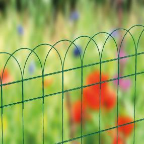Декоративни оградни мрежи BORDER FENCE за ограждане на алеи и градинки