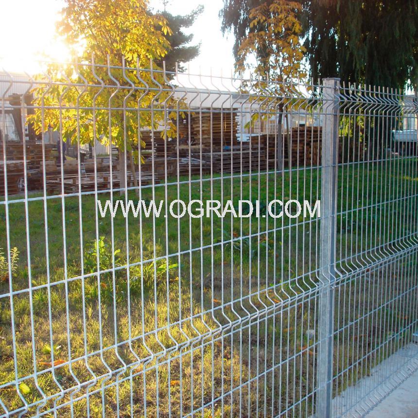 Оградни пана NYLOFOR 3D HD GALVA за индустриални обекти