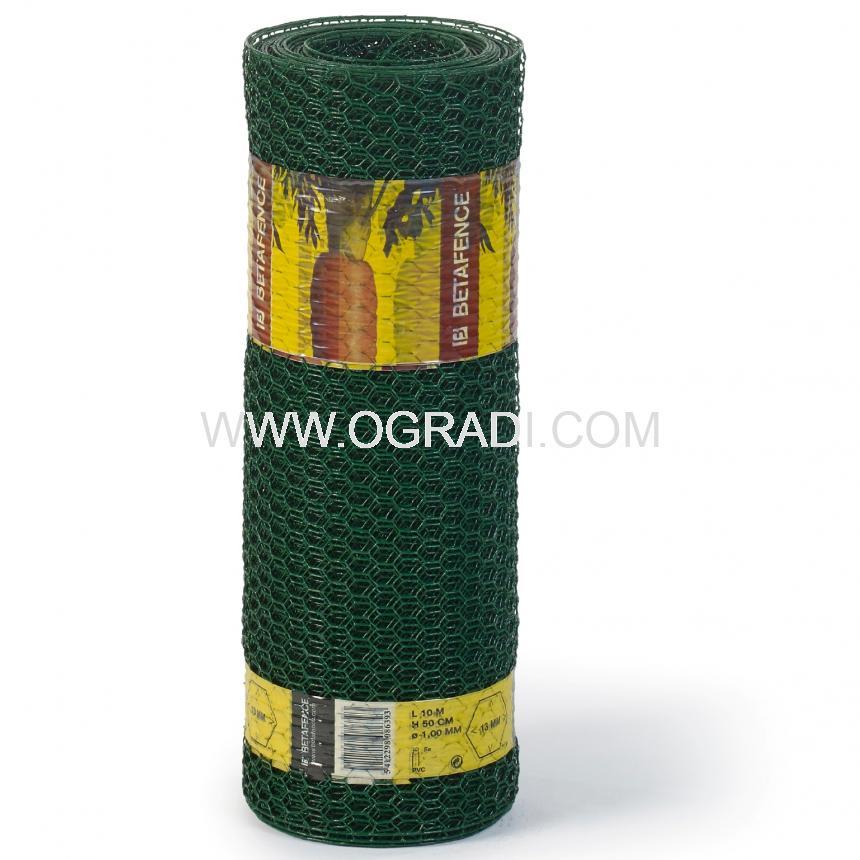 Оградни мрежи HEXANET PVC за жилищни сгради и селско стопанство